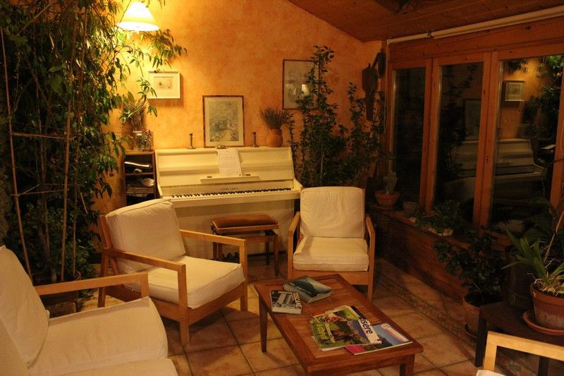 Le piano au salon